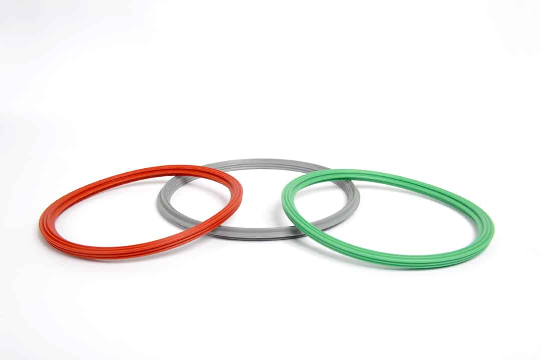 Elastomer molded seals