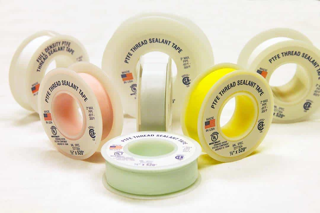 PTFE All Thread Sealant Tape grades