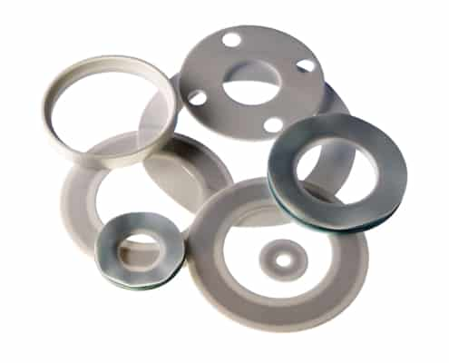 Collection of PTFE Gaskets