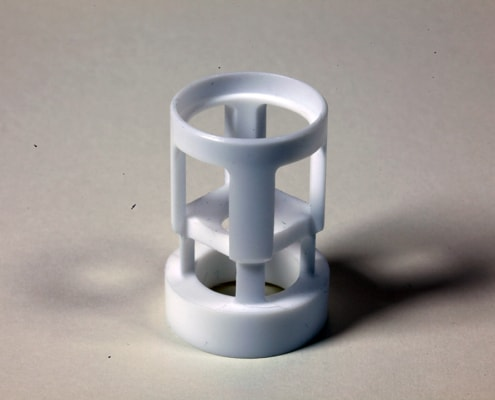 Machined Part natural PTFE