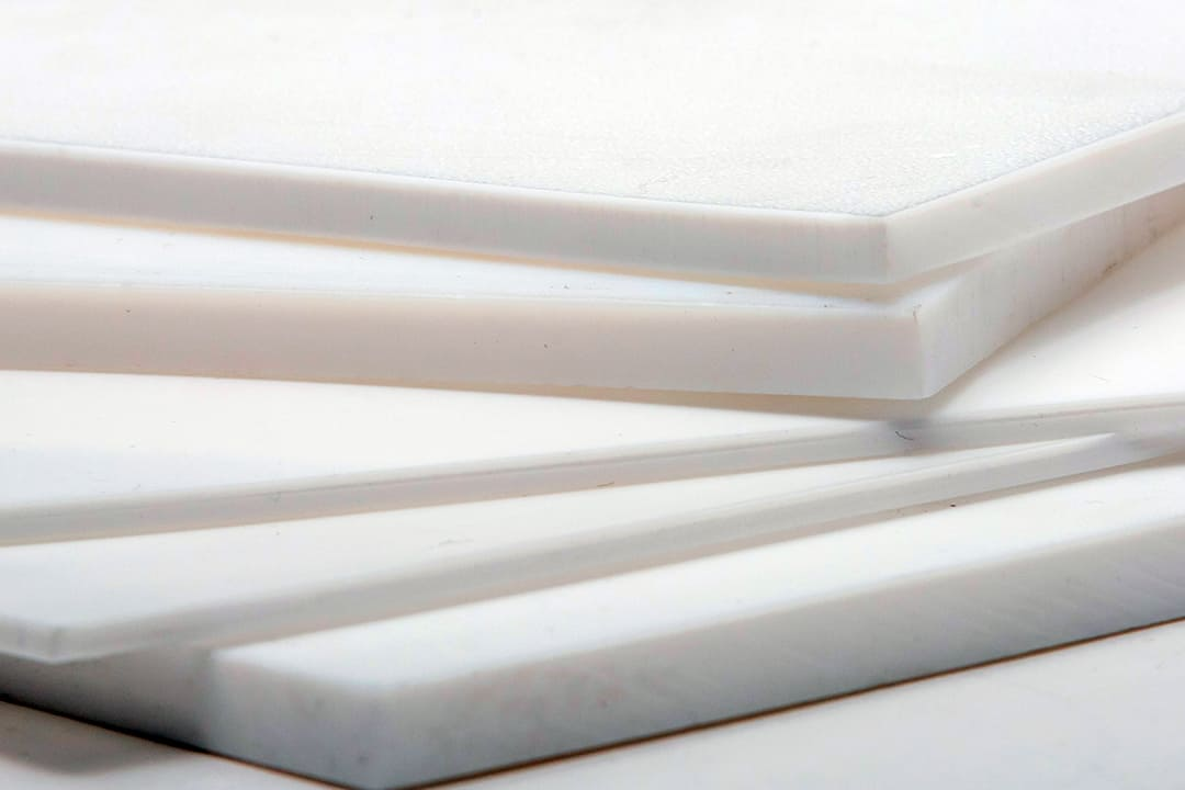 PTFE Molded Sheets close up