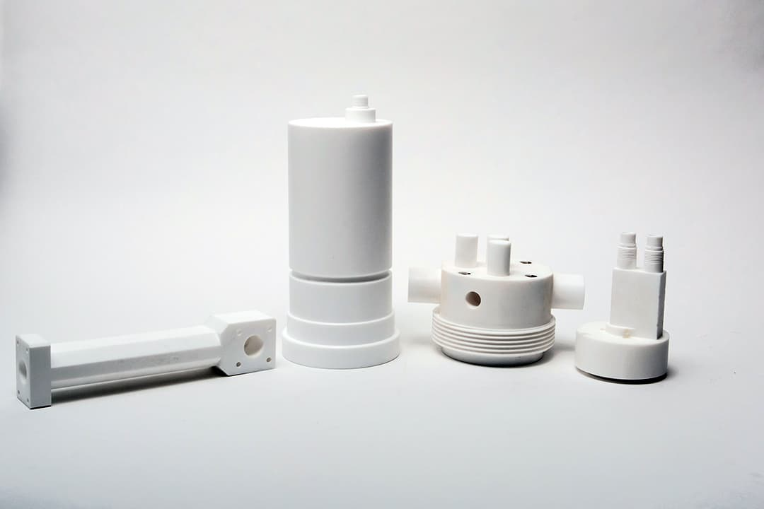 Natural PTFE machined parts