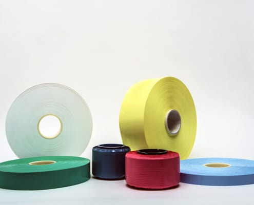 Collection of unsintered PTFE tapes