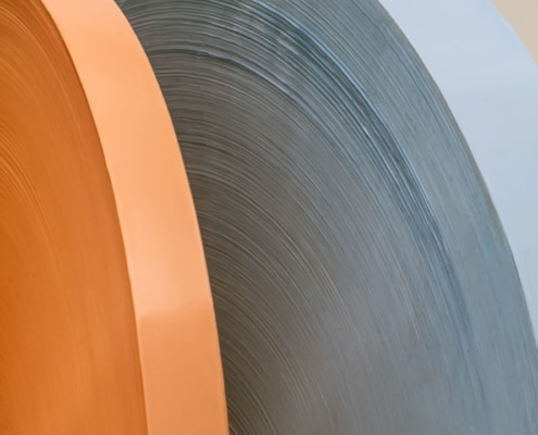 PTFE Unsintered Tapes with Pancake/Flat Pads close up