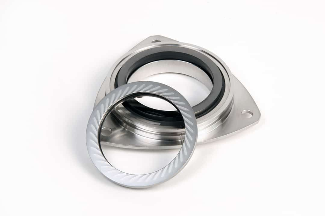 Qualiseal Non-Contacting Face Seal with Mating Ring