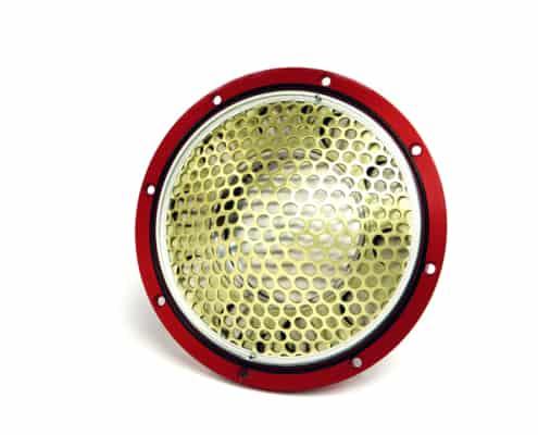 Red SAFE SHEAR® Belleville Rupture Disc